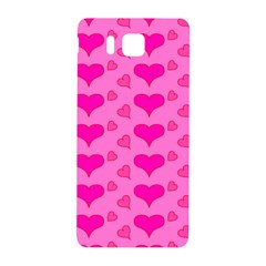Hearts Pink Samsung Galaxy Alpha Hardshell Back Case