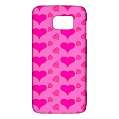 Hearts Pink Galaxy S6
