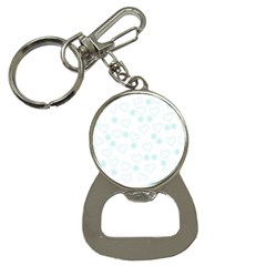 Flowers And Hearts Bottle Opener Key Chains