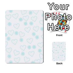 Flowers And Hearts Multi-purpose Cards (Rectangle)