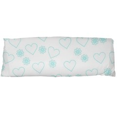 Flowers And Hearts Body Pillow Cases Dakimakura (two Sides)
