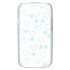 Flowers And Hearts Samsung Galaxy S III Case (White)
