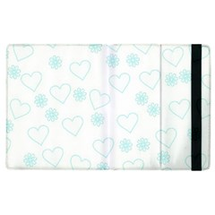 Flowers And Hearts Apple iPad 3/4 Flip Case