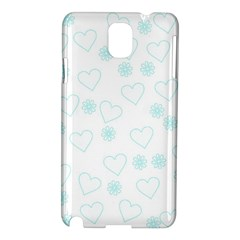 Flowers And Hearts Samsung Galaxy Note 3 N9005 Hardshell Case