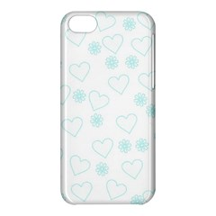 Flowers And Hearts Apple iPhone 5C Hardshell Case