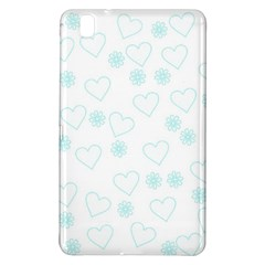 Flowers And Hearts Samsung Galaxy Tab Pro 8.4 Hardshell Case