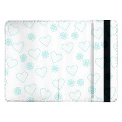 Flowers And Hearts Samsung Galaxy Tab Pro 12.2  Flip Case