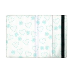 Flowers And Hearts iPad Mini 2 Flip Cases
