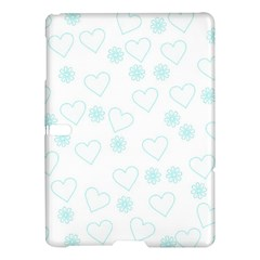 Flowers And Hearts Samsung Galaxy Tab S (10.5 ) Hardshell Case