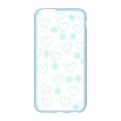Flowers And Hearts Apple Seamless iPhone 6/6S Case (Color)