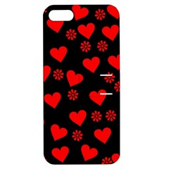 Flowers And Hearts Apple iPhone 5 Hardshell Case with Stand
