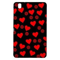 Flowers And Hearts Samsung Galaxy Tab Pro 8 4 Hardshell Case