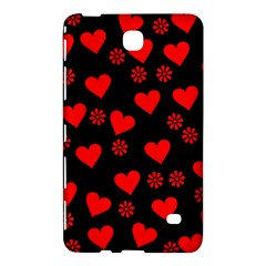 Flowers And Hearts Samsung Galaxy Tab 4 (7 ) Hardshell Case
