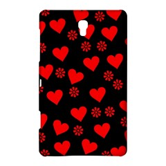 Flowers And Hearts Samsung Galaxy Tab S (8.4 ) Hardshell Case