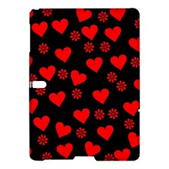 Flowers And Hearts Samsung Galaxy Tab S (10 5 ) Hardshell Case