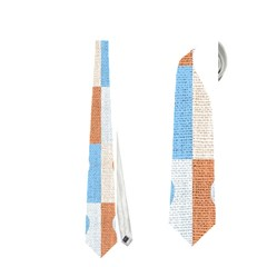 Hearts Plaid Neckties (two Side)