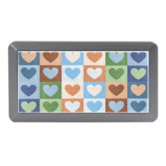 Hearts Plaid Memory Card Reader (Mini)