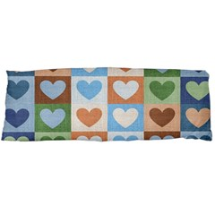 Hearts Plaid Body Pillow Cases Dakimakura (Two Sides)