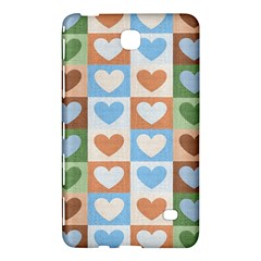 Hearts Plaid Samsung Galaxy Tab 4 (8 ) Hardshell Case