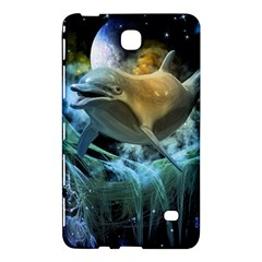 Funny Dolphin In The Universe Samsung Galaxy Tab 4 (8 ) Hardshell Case