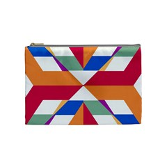 Shapes in triangles Cosmetic Bag (Medium)