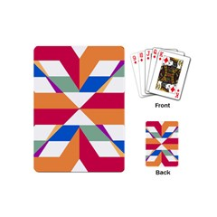 Shapes In Triangles Playing Cards (mini)