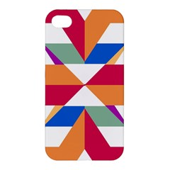 Shapes in triangles Apple iPhone 4/4S Hardshell Case