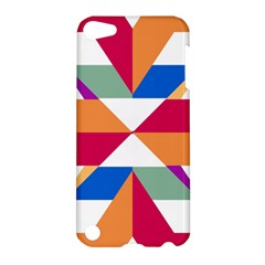 Shapes in triangles Apple iPod Touch 5 Hardshell Case
