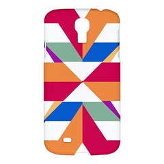 Shapes in triangles Samsung Galaxy S4 I9500/I9505 Hardshell Case