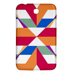 Shapes in triangles Samsung Galaxy Tab 3 (7 ) P3200 Hardshell Case