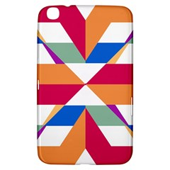Shapes in triangles Samsung Galaxy Tab 3 (8 ) T3100 Hardshell Case