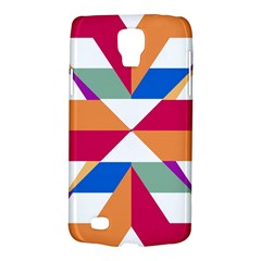 Shapes in triangles Samsung Galaxy S4 Active (I9295) Hardshell Case