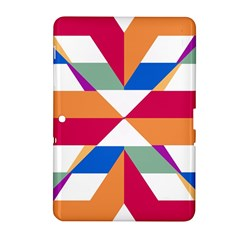 Shapes in triangles Samsung Galaxy Tab 2 (10.1 ) P5100 Hardshell Case
