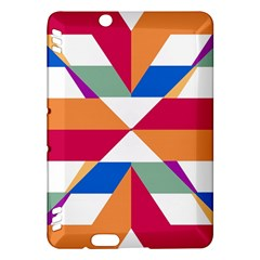Shapes in triangles Kindle Fire HDX Hardshell Case