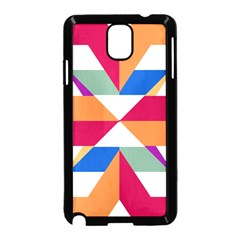 Shapes In Triangles Samsung Galaxy Note 3 Neo Hardshell Case