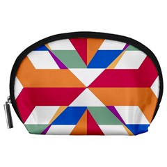 Shapes in triangles Accessory Pouch