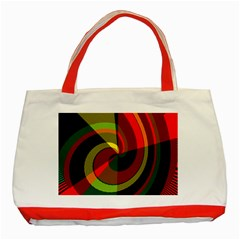Spiral Classic Tote Bag (Red)