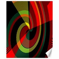 Spiral Canvas 11  x 14