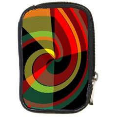Spiral Compact Camera Leather Case