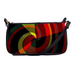 Spiral Shoulder Clutch Bag