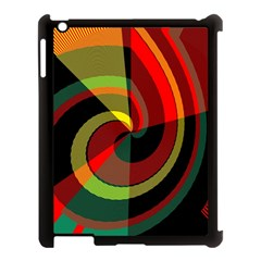 Spiral Apple iPad 3/4 Case (Black)