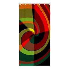 SpiralShower Curtain 36  x 72