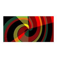 Spiral Satin Wrap