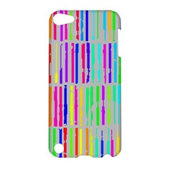 Colorful vintage stripes Apple iPod Touch 5 Hardshell Case