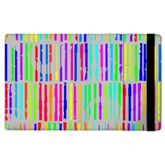 Colorful vintage stripes Apple iPad 3/4 Flip Case