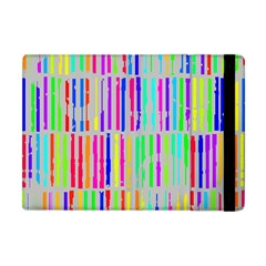 Colorful vintage stripes Apple iPad Mini Flip Case