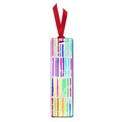 Colorful vintage stripes Small Book Mark