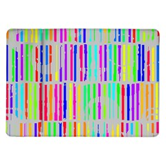 Colorful vintage stripes Samsung Galaxy Tab 10.1  P7500 Flip Case