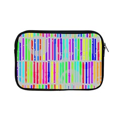 Colorful vintage stripes Apple iPad Mini Zipper Case