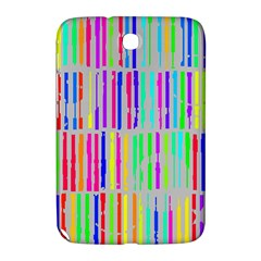 Colorful vintage stripes Samsung Galaxy Note 8.0 N5100 Hardshell Case